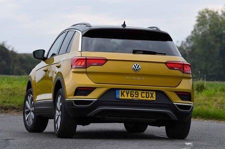 Volkswagen T-Roc 2019 RHD rear left cornering