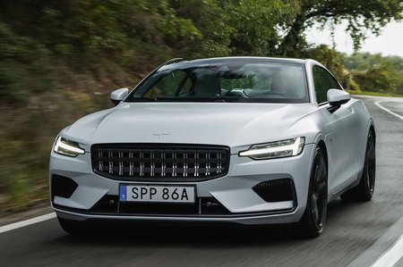 Polestar 1 2019 LHD front tracking