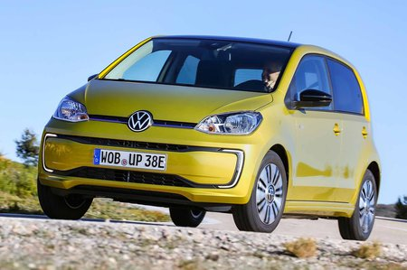 Volkswagen e-Up 2019 LHD front cornering