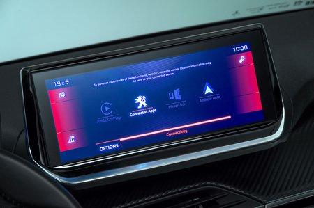 Peugeot 208 2019 infotainment (LHD)
