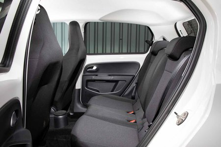 Skoda Citigo e IV 2019 LHD rear seats