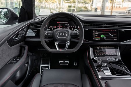 Audi RS Q8 2019 dashboard LHD