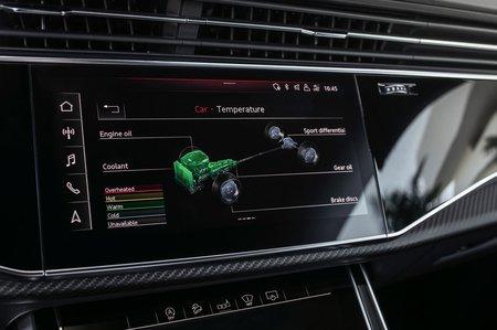 Audi RS Q8 2019 infotainment LHD