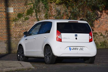 Seat Mii Electric 2019 rear right tracking LHD