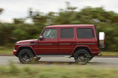 Used Mercedes G-Class 2010-2018 tracking