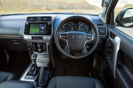 Toyota Land Cruiser 2019 dashboard RHD