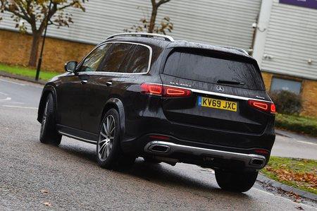 2020 Mercedes GLS rear cornering