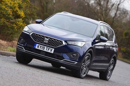 2019 Seat Tarraco front