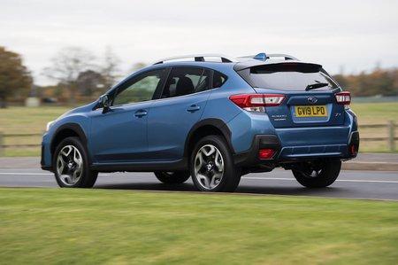 Subaru XV 2019 rear left handling