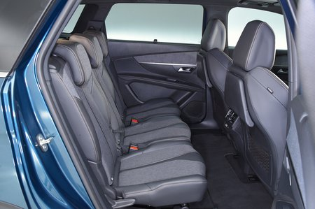 2018 Peugeot 5008 rear seats RHD