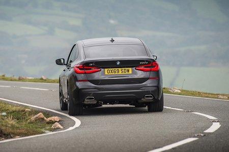 BMW 6 Series GT (69 plates) rear tracking RHD