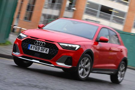 Audi A1 Citycarver 2020 RHD front cornering