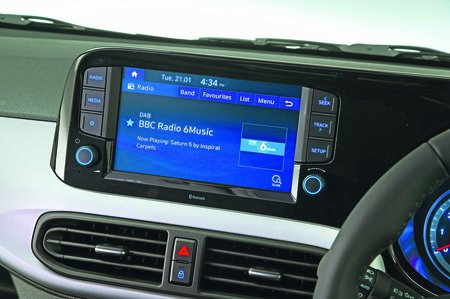 Hyundai i10 2020 RHD infotainment