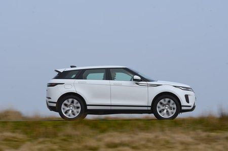 2019 Land Rover Range Rover Evoque right panning RHD