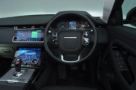 2019 Land Rover Range Rover Evoque dashboard RHD