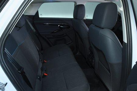 2019 Land Rover Range Rover Evoque rear seats RHD