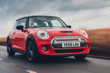 Mini Electric 2020 RHD right front tracking