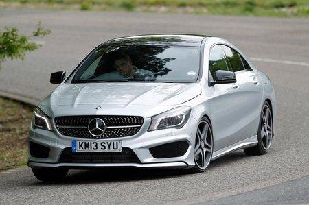Mercedes CLA front three quarters