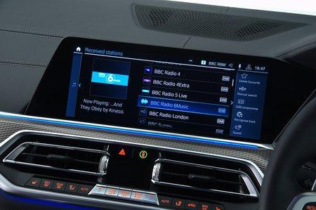 BMW X5 2020 RHD infotainment