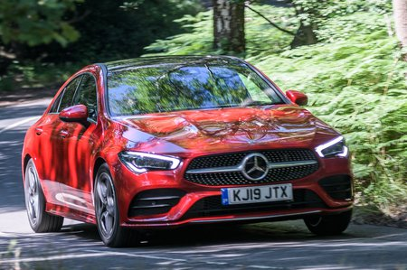 Mercedes CLA 2020 RHD front right tracking
