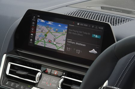 BMW 8 Series Gran Coupé 2020 RHD infotainment