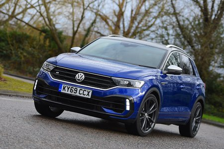 Volkswagen T-Roc R 2020 RHD front left tracking