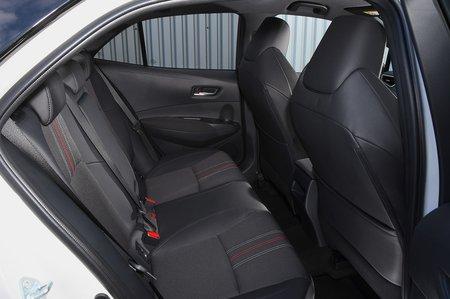 Toyota Corolla GR 2020 RHD rear seats