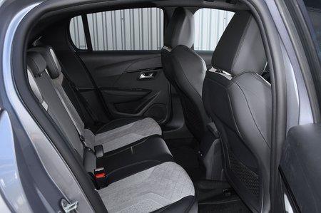 Peugeot e-208 2020 RHD rear seats