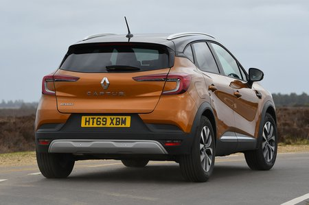 Renault Captur 2020 RHD right rear tracking