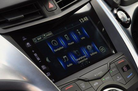 Honda NSX 2020 RHD infotainment
