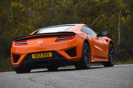 Honda NSX 2020 RHD rear tracking