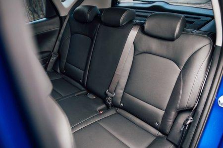 Kia Soul EV 2020 RHD rear seats