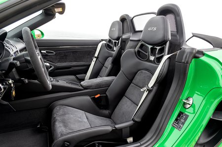 Porsche Boxster 2020 LHD front seats