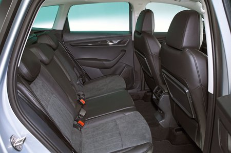 Skoda Karoq 2020 RHD rear seats