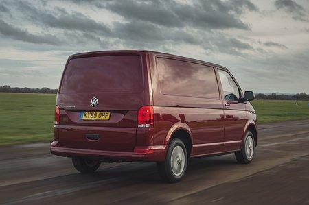 Volkswagen Transporter 6.1 2020 RHD rear tracking