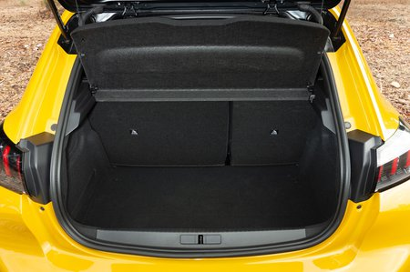 Peugeot 208 2020 RHD boot open