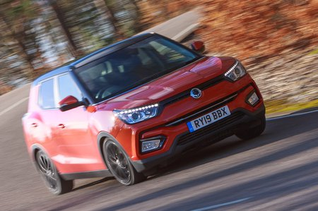 Ssangyong Tivoli 2020 RHD front tracking
