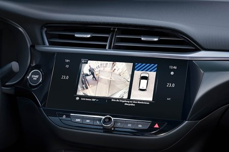 Vauxhall Corsa-e 2020 LHD dashboard
