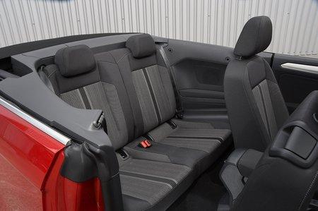 Volkswagen T-Roc Cabriolet 2020 RHD rear seats