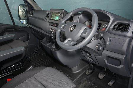 Renault Master 2020 RHD dashboard