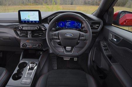 Ford Kuga 2020 RHD dashboard