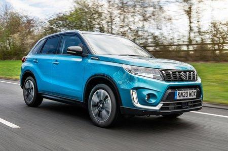 Suzuki Vitara 2020 RHD right front tracking
