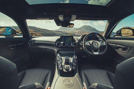 Mercedes-AMG GT 2020 RHD dashboard