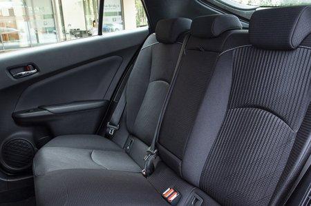 Toyota Prius Plug-In 2020 RHD rear seats