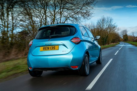 Renault Zoe 2020 RHD rear tracking