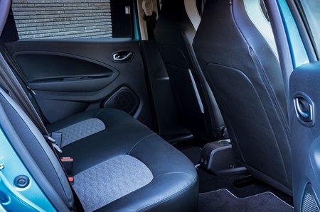 Renault Zoe 2020 RHD rear seats