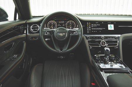 2020 Bentley Flying Spur dashboard