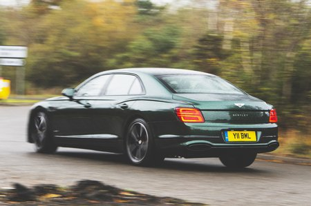 2020 Bentley Flying Spur rear
