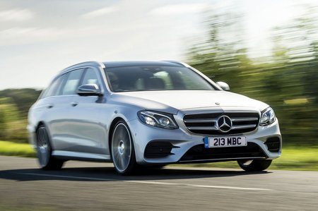 Mercedes E-Class Estate front tracking