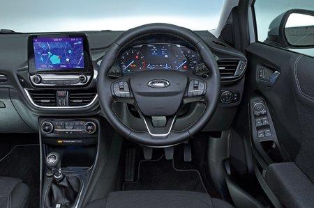 Ford Puma 2021 dashboard